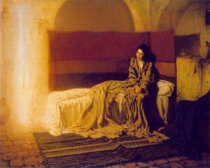 advent art tanner annunciation