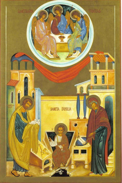 Holy Family and the Trinity