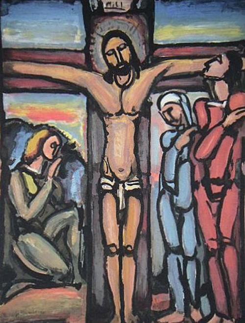 Georges Rouault -Crucifixion