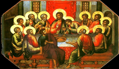 last supper icon